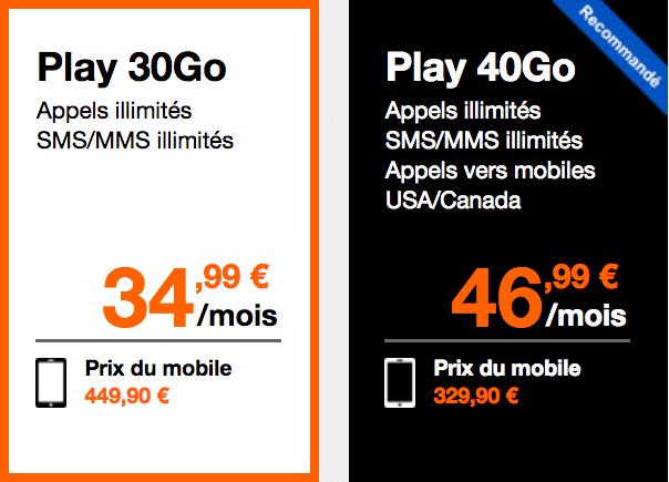 Forfait iPhone 8 Orange