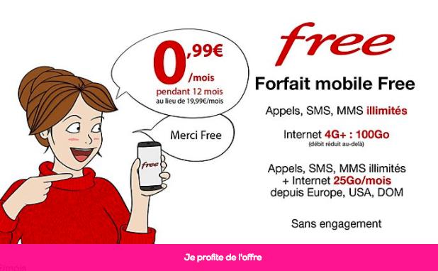 Forfait vp free