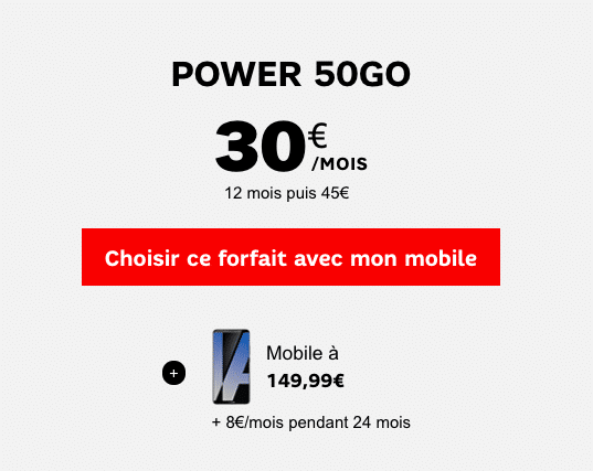 Huawei SFR 50 go