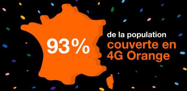 Selon l'ANFR, Orange enregistre la meilleure progression dans la mise en service 4G.