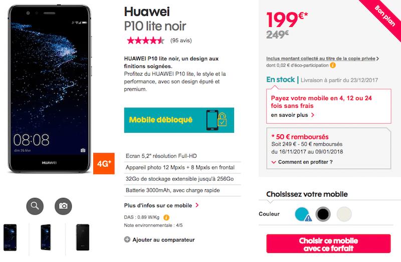 promo sosh Huawei P10 Lite