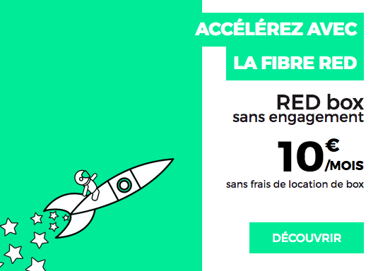 La box internet à 10€ de RED by SFR