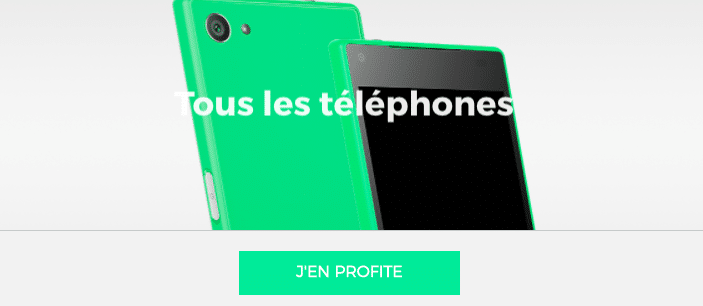 Les smartphones chez RED by SFR