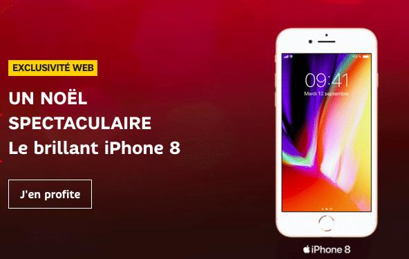 SFR iPhone 8 noel