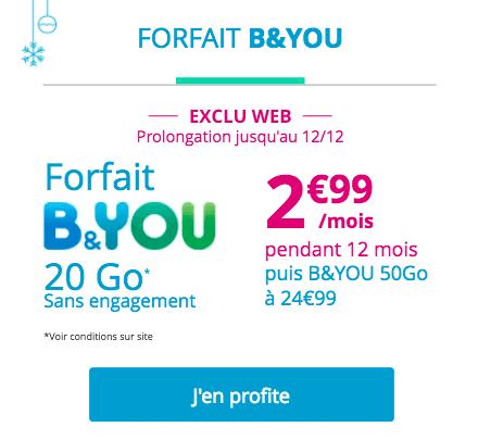 promo b&you forfait