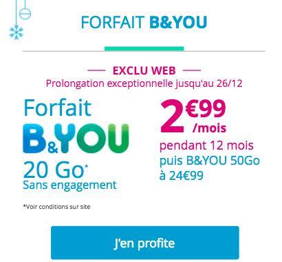 bon plan forfait B&You