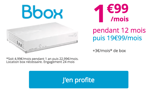 prolongation bbox ADSL
