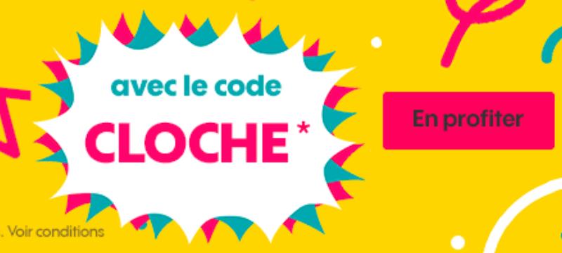 code promo sosh cloche