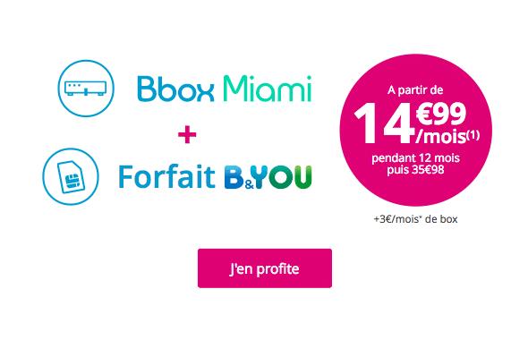 forfait Bouygues Télécom