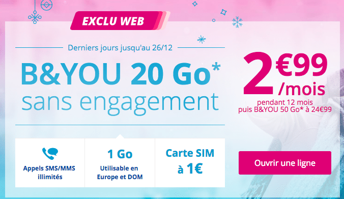 forfait mobile byou