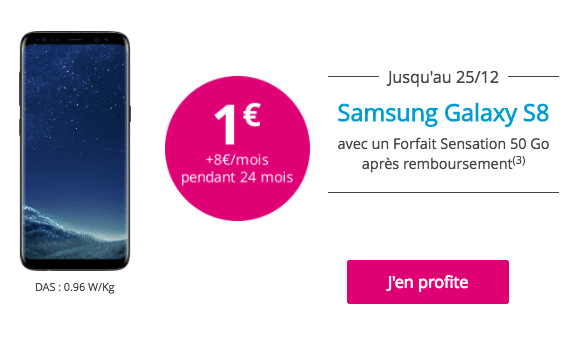 promo Samsung S8 Bouygues