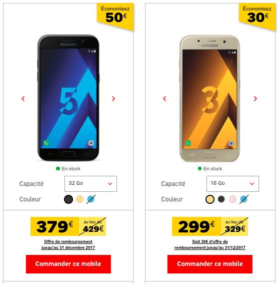 Samsung Galaxy SFR