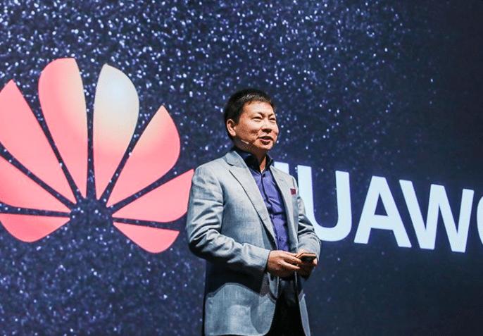Huawei représenté pat son président, risque d'inonder prochainement le marché américain.