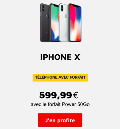 iPhone X SFR Apple