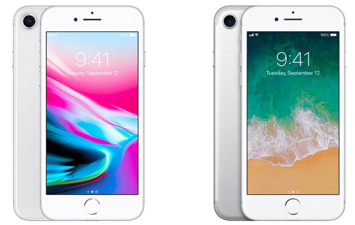 L'iPhone 8 a le même design que l'iPhone 7