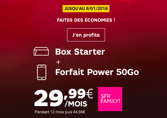 mobile et box SFR