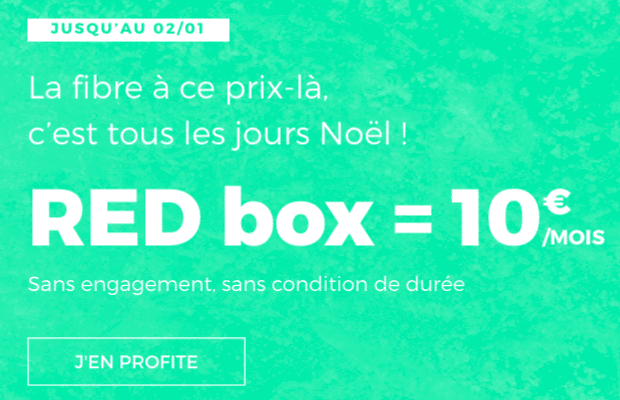 RED Box fibre optique ADSL