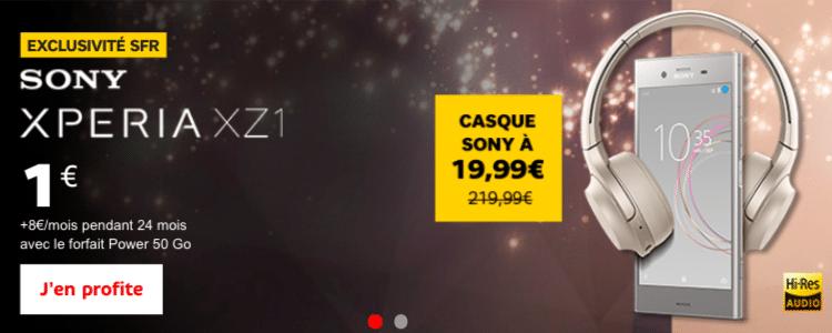 Sony Xperia SFR-Altice forfait