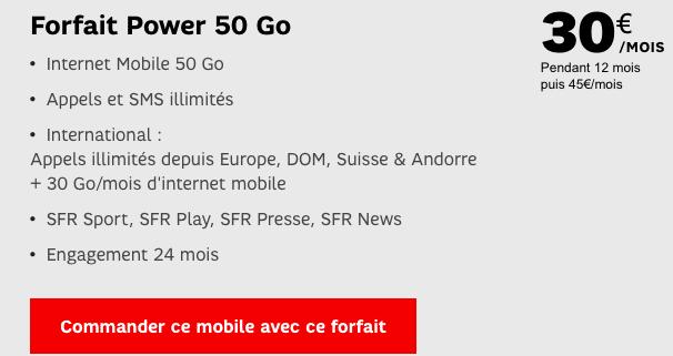 Le Galaxy S8 est en promotion chez SFR