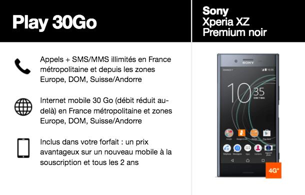 Orange XZ Premium