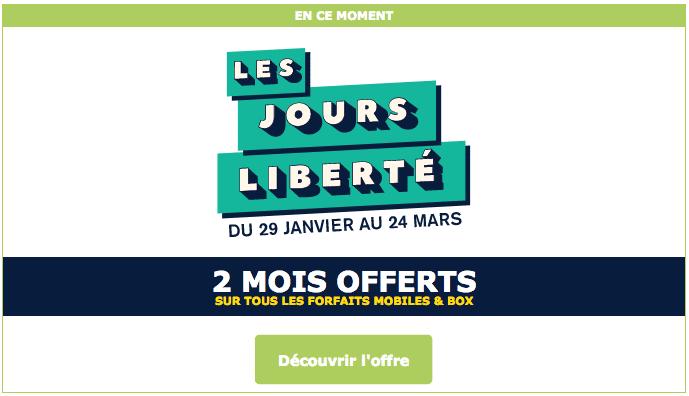 2 mois offerts sur les forfaits La Poste Mobile