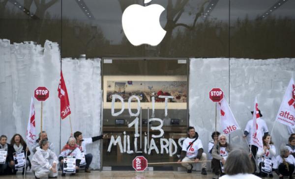 L'Apple Store d'Aix-en-Provence avait été occupé par Attac.