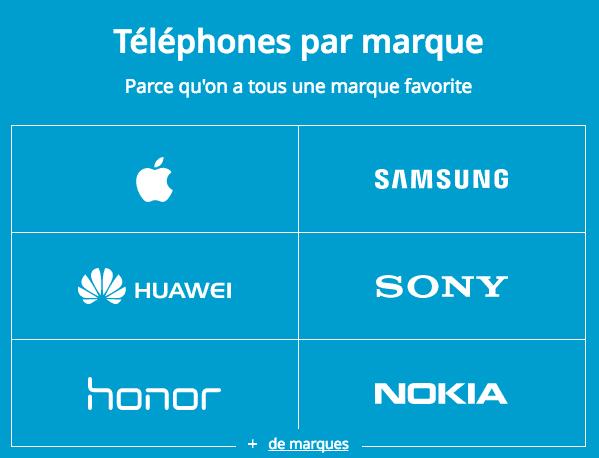 Bouygues choisir mobile