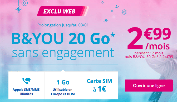 Bouygues telecom promotion