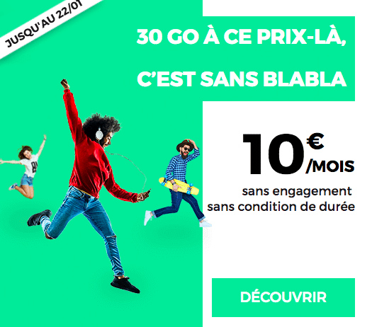 RED promo forfait mobile