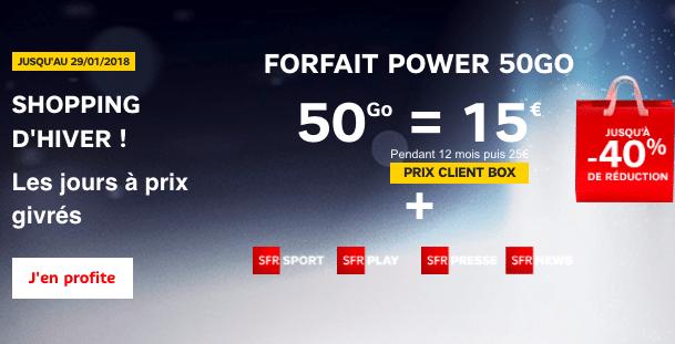 SFR forfait power