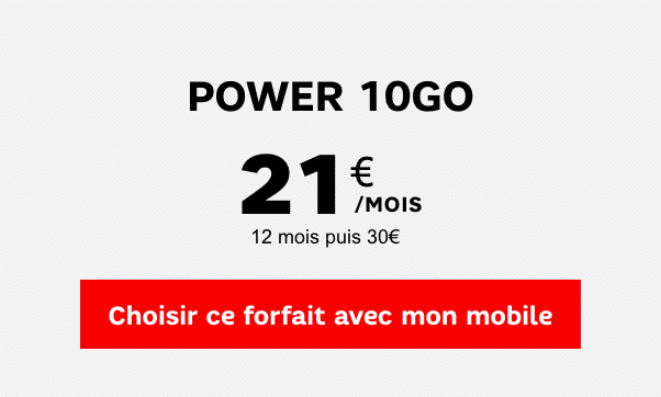 SFR power 10 go