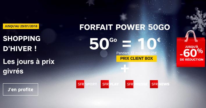 Les offres box et forfait de SFR