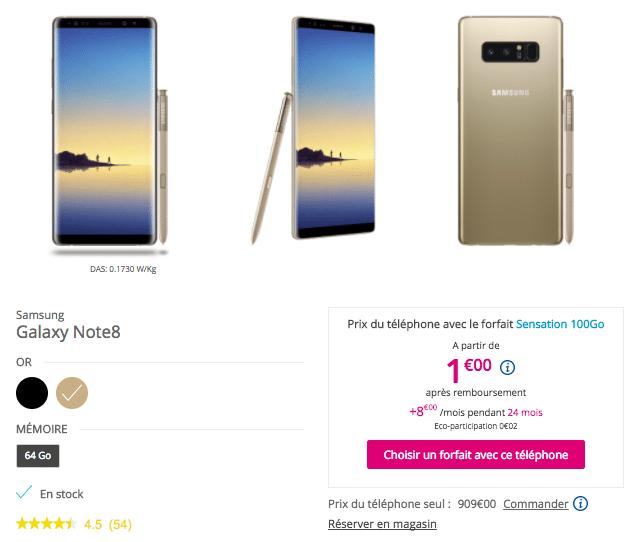 Samsung bouygues telecom