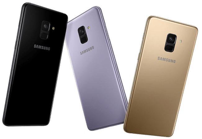 Les Samsung A8 et A8 + présentés au CES 2018