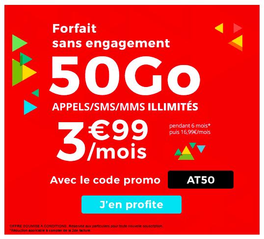 Le forfait Auchan Telecom est à prix promotionnel.