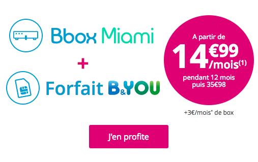 L'offre mobile à 0€ de Bouygues Télécom