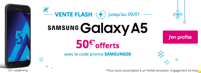 galaxu A5 vente flash