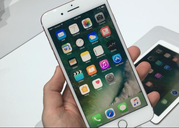 Les performances de l'iPhone 7 d'Apple est aussi en proie à des ralentissements.