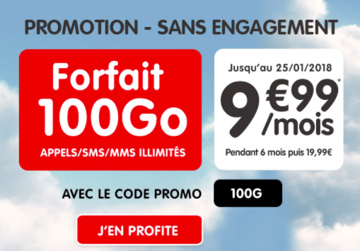 forfait nrj mobile code promo
