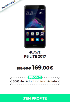 Le P8 Lite 2017 est en promotion chez RED by SFR.