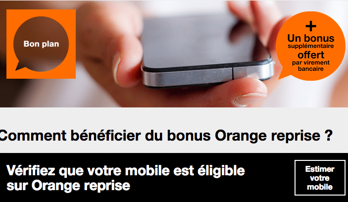 orange sfr et bouygues t l com rach tent votre ancien mobile. Black Bedroom Furniture Sets. Home Design Ideas