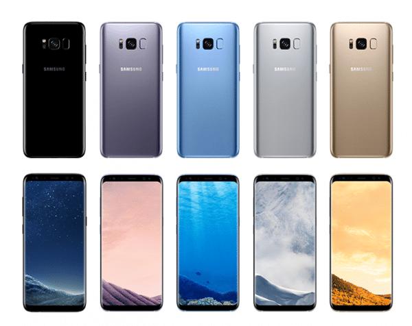 Le Galaxy S8 de Samsung.