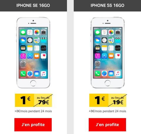 promo iPhone Apple SFR