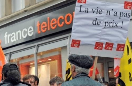 Orange, anciennement France Télécom, avait connu une vague de suicides dans les années 2000.