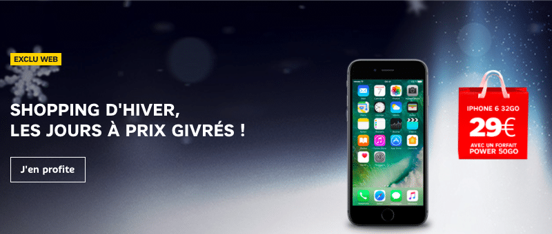 promo iPhone Apple SFR