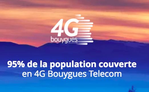 La 4G de Bouygues Télécom.