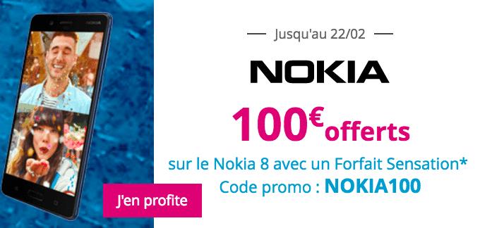 Le Nokia 8 avec Bouygues Télécom.