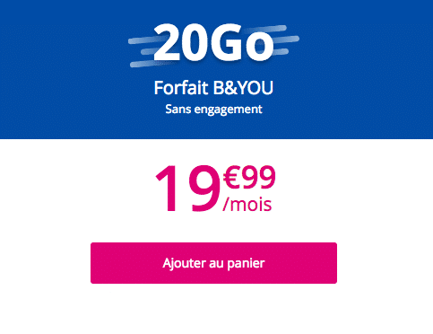 Bouygues Telecom sans engagement