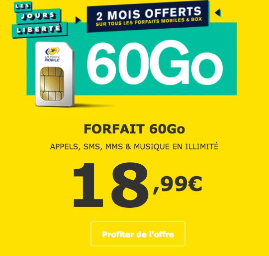 Forfait La Poste Mobile