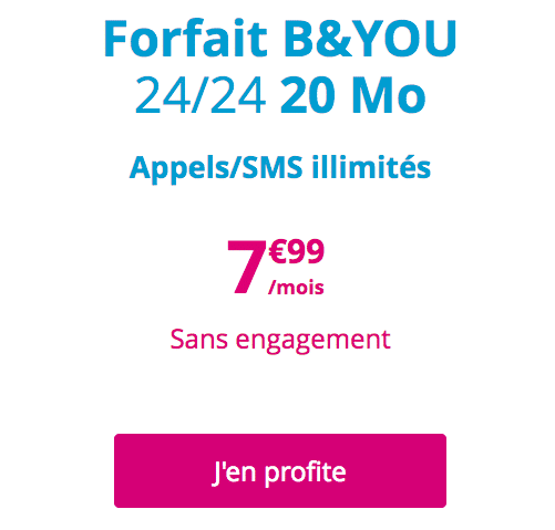 Forfait byou
